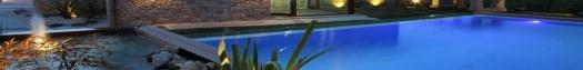 Decoración exterior jardín en A Mariña